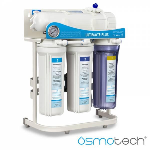Osmoseanlage Ultimate PLUS Superflow mit 600 GPD